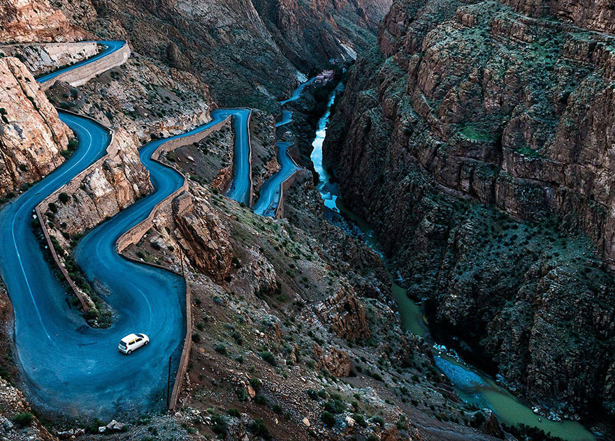These Are The 35 Best Pictures Of 2016 National Geographic Traveler Photo Contest - Winding Roads, Morocco