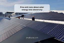 Pros and cons about solar energy in society