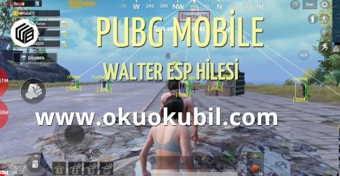 PUBG Mobile WalterESP GÖZ Mod Menu Hilesi APK  İndir 2020 Androıd
