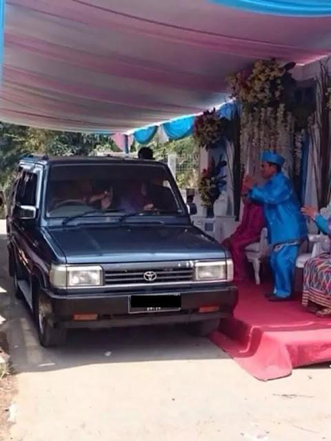 Anti-mainstream, 10 Pernikahan Super Kocak yang Hanya Ada di Indonesia