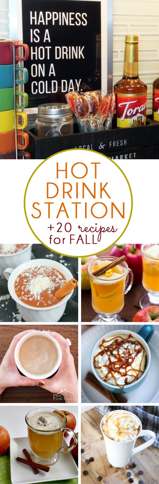 Hot Drink Station Fall Drink Recipes