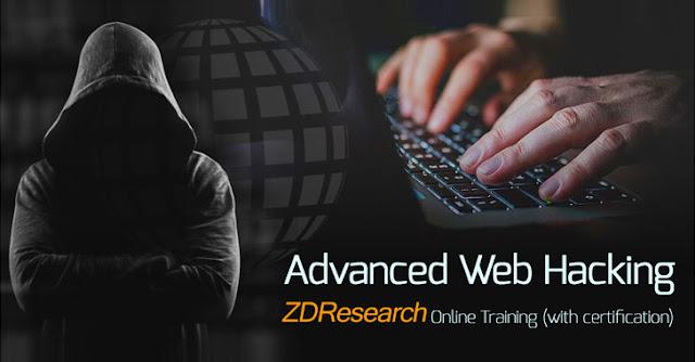 كورس تعلم إختراق المواقع Advanced Web Hacking