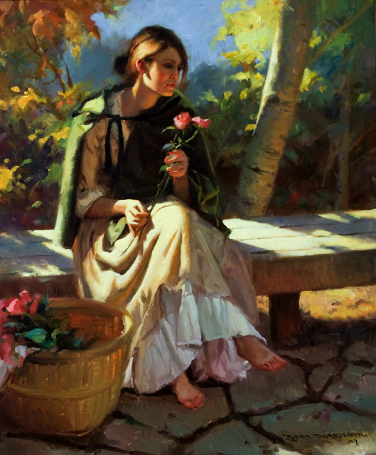 "American Figurative Painter -""G.Bjorn Thorkelson"""