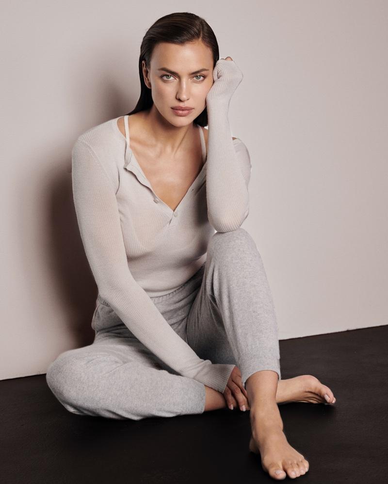 Irina Shayk stars in NAKEDCASHMERE fall 2021 campaign