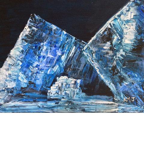 Iceberg series 116k, Newfoundland - Original painting