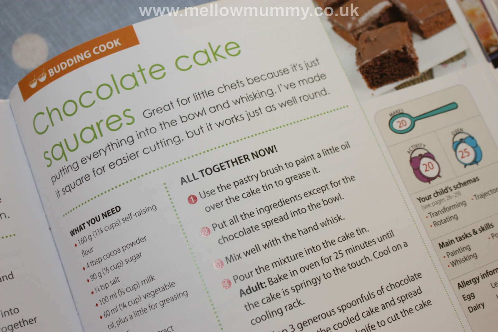Mellow Mummy: Tickle Fingers Cookbook: Hands-on fun in the kitchen ...