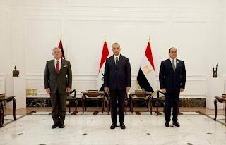 البيان الختامي لقمة القادة ضمن آلية التعاون الثلاثي (العراق، الأردن، مصر) في بغداد 27 حزيران 2021