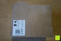 Aufkleber: Eurosell Holz Schreibtischorganizer Brief Post Ablage Briefablage Postablage Briefständer Vintage Retro Design Designer Dokumenten Prospekte Ständer