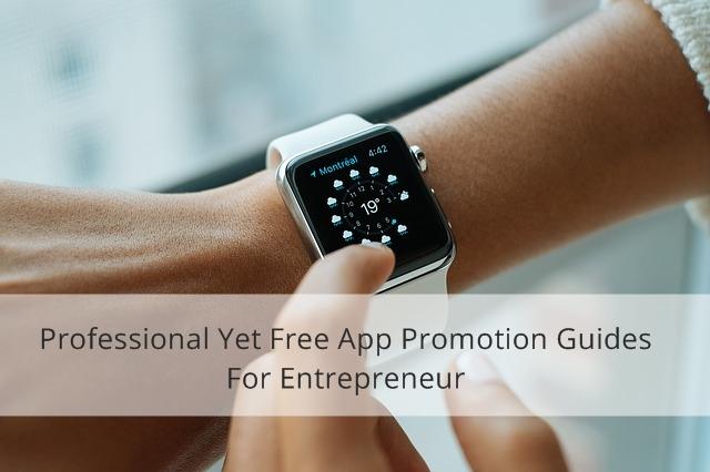 App promotion guides