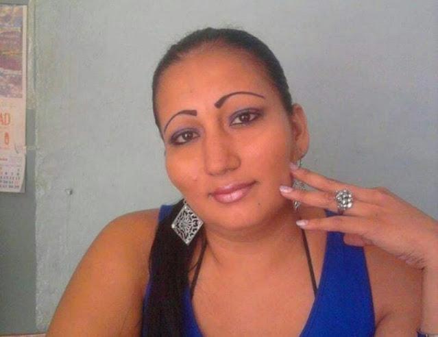 Mujer salvadoreña víctima de la brutalidad policiaca en Tulum