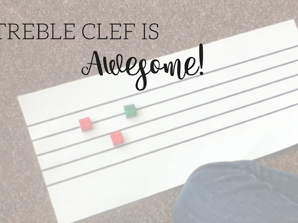 """Treble Clef is AWESOME!!!"""