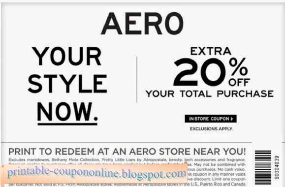 View Aeropostale Deals How to Use Coupons and Codes. Aeropostale Tips & Tricks Aeropostale offers 15% off to new email subscribers. Plus, Aeropostale often has exclusive sales, with savings between %, that can be entered by submitting your email address.
