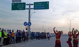 Jalan Tol Tanjung Mulia - Marelan Resmi Beroperasi