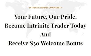 Intrinite $30 Forex No Deposit Bonus