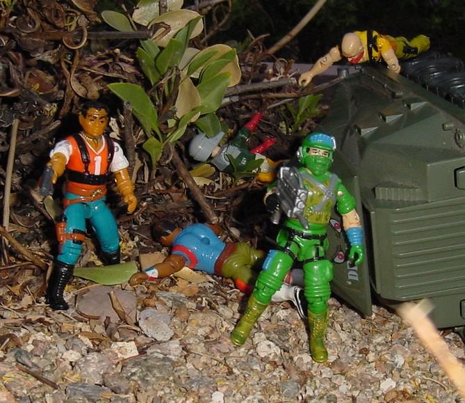 1987 Blaster, Battle Force 2000, Fridge, Red Dog, Taurus, Persuader, Back Stop