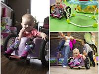 Kursi roda Untuk Anak Penderita Kanker Neuroblastoma