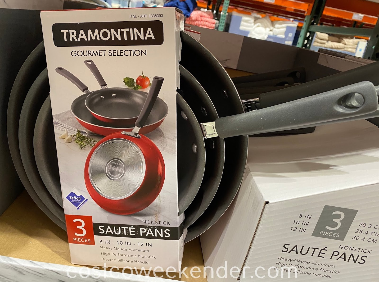 Cook a delicious meal using Tramontina Nonstick Saute Pans