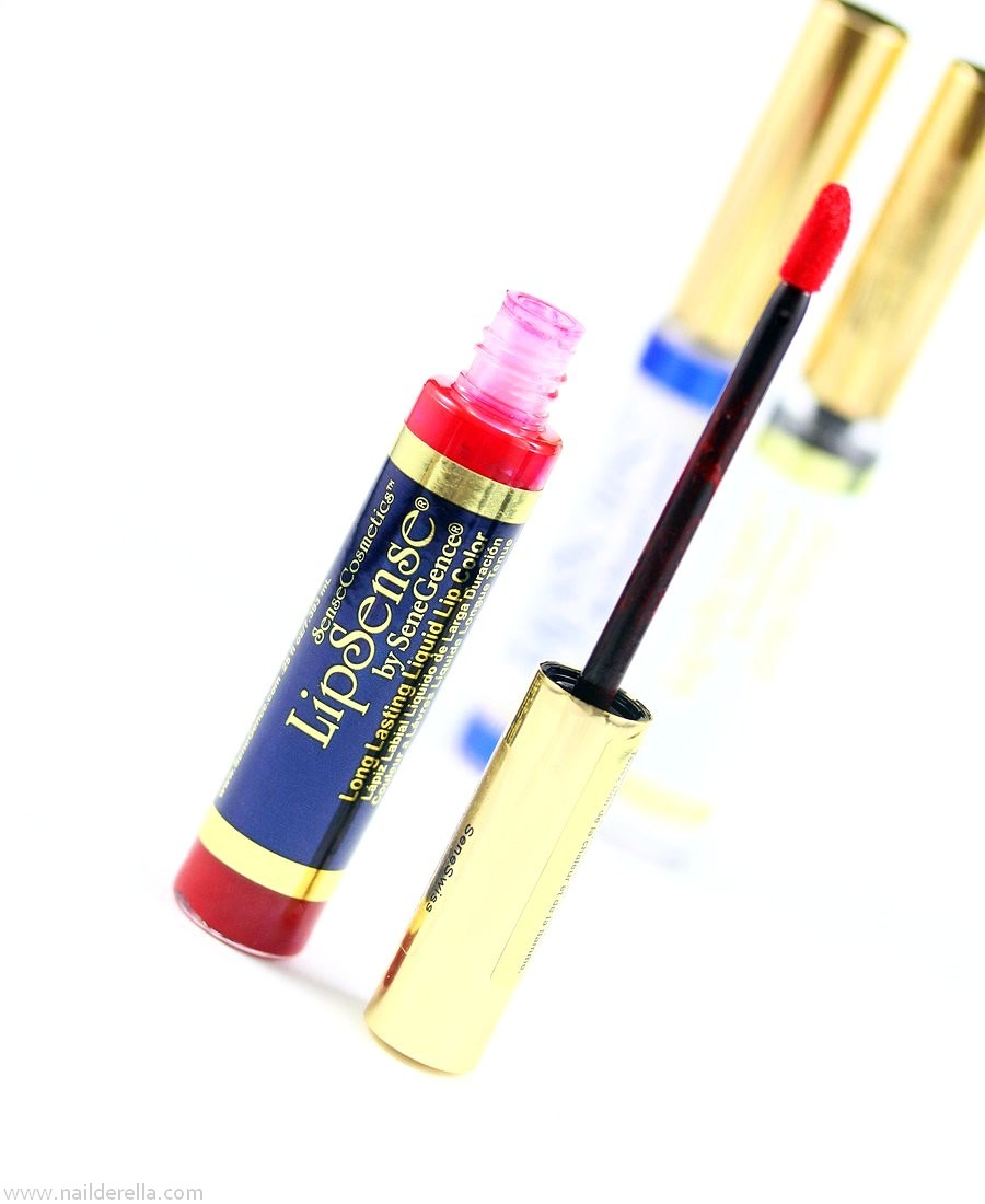 Lipsense - Swatches & Review - Nailderella