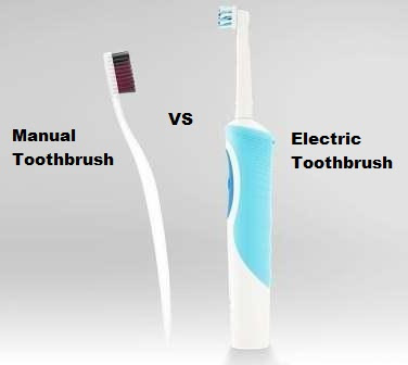 Manual and Electric Toothbrushes Efficacy Comparison