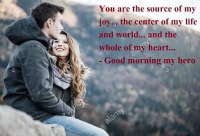 Romantic Good Morning Images for Boyfriend  - you are the source