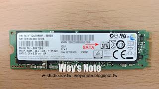 Wey's note: M.2 SSD硬碟規格及解唯讀