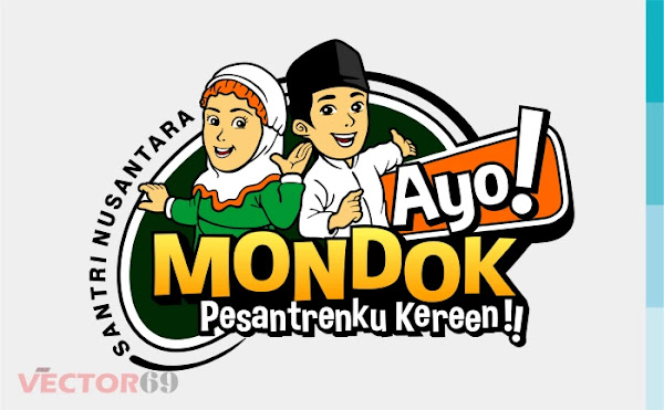 Ayo! Mondok, Pesantrenku Keren!! Logo - Download Vector File SVG (Scalable Vector Graphics)