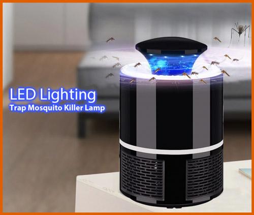 ضاءة LED مصيدة مصباح البعوض القاتل
