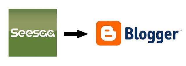 SeesaaブログとBloggerのロゴ