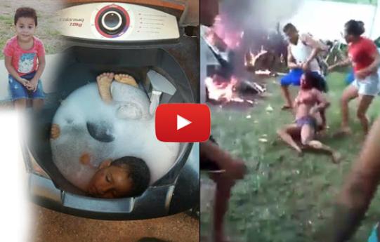 Video : Bunuh Anak Dengan Memasukkan Kemesin Cuci , Ibu Ini Di ...