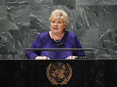 A-primeira-ministra-Erna -Solberg