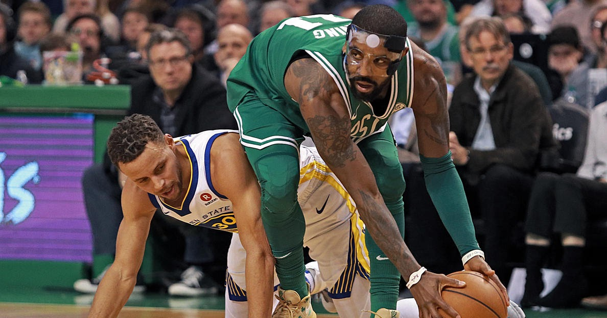 Get a summary of the Golden State Warriors vs Boston Celtics basketball game