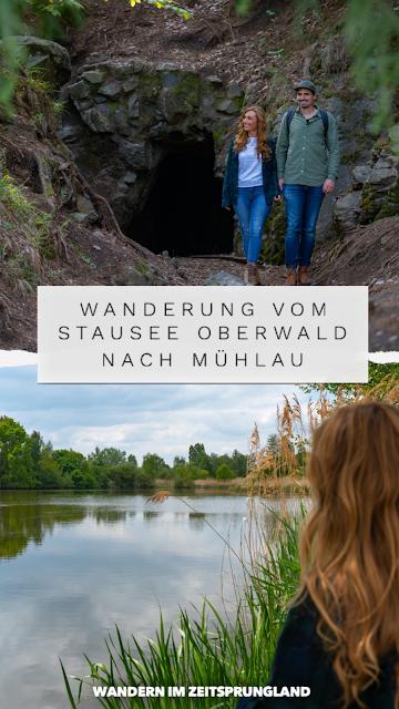 Wanderung im Zeitsprungland   Vom Stausee Oberwald nach Mühlau   Wandern in Sachsen   Tourismusregion Zwickau 12