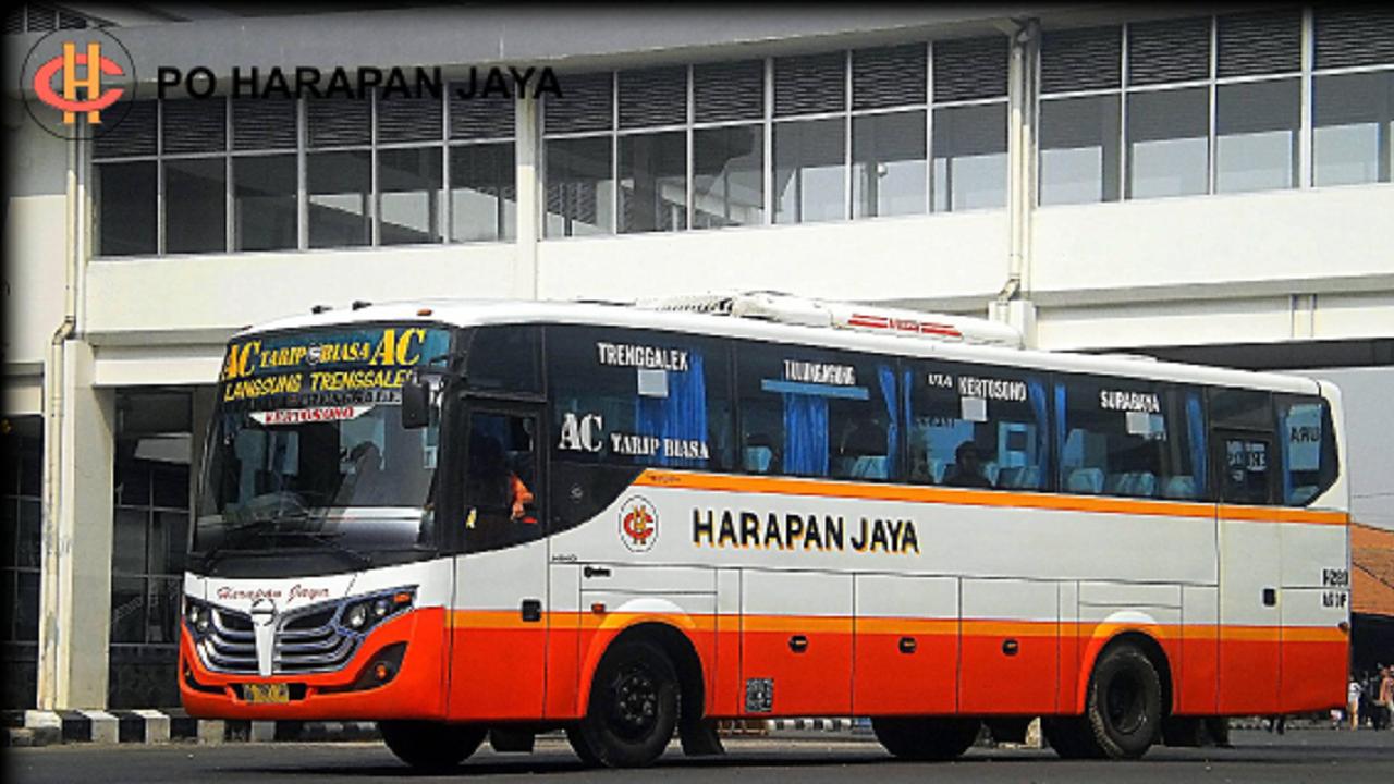 Jadwal Bus Ekonomi Via Tol Kertosono Harapan Jaya Tulungagong-Surabaya