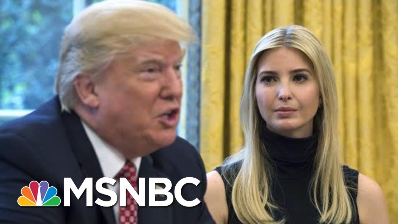 Dodging Giuliani Question, Ivanka Trump Channels De Niro From 'The Irishman' | The 11th Hour | MSNBC