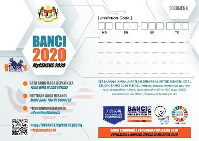 Cara Daftar e-Census/ Banci 2020 Online (Login)