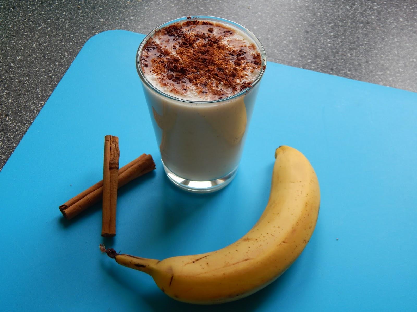 Banánovo skořicové smoothie