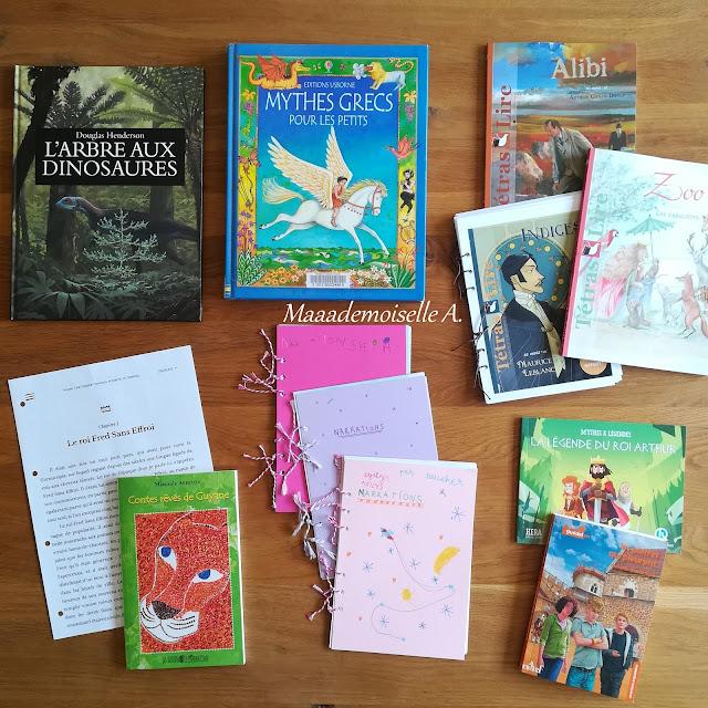 Carnet de bord IEF # 13 : La narration + la liste de nos living books (Charlotte Mason)