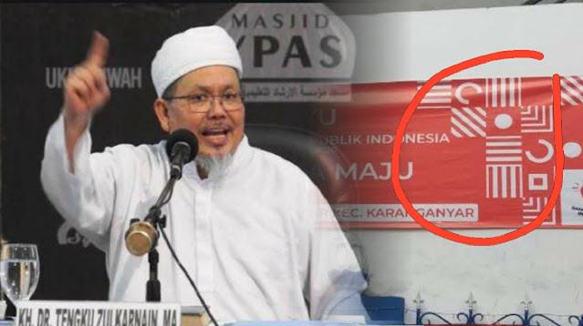 Logo HUT RI ke-75 Mirip Salib, Ustadz Tengku: Umat Mayoritas Mau Digilas?