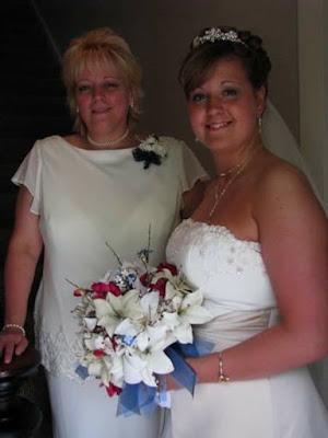 Judy Bauer Wedding Day