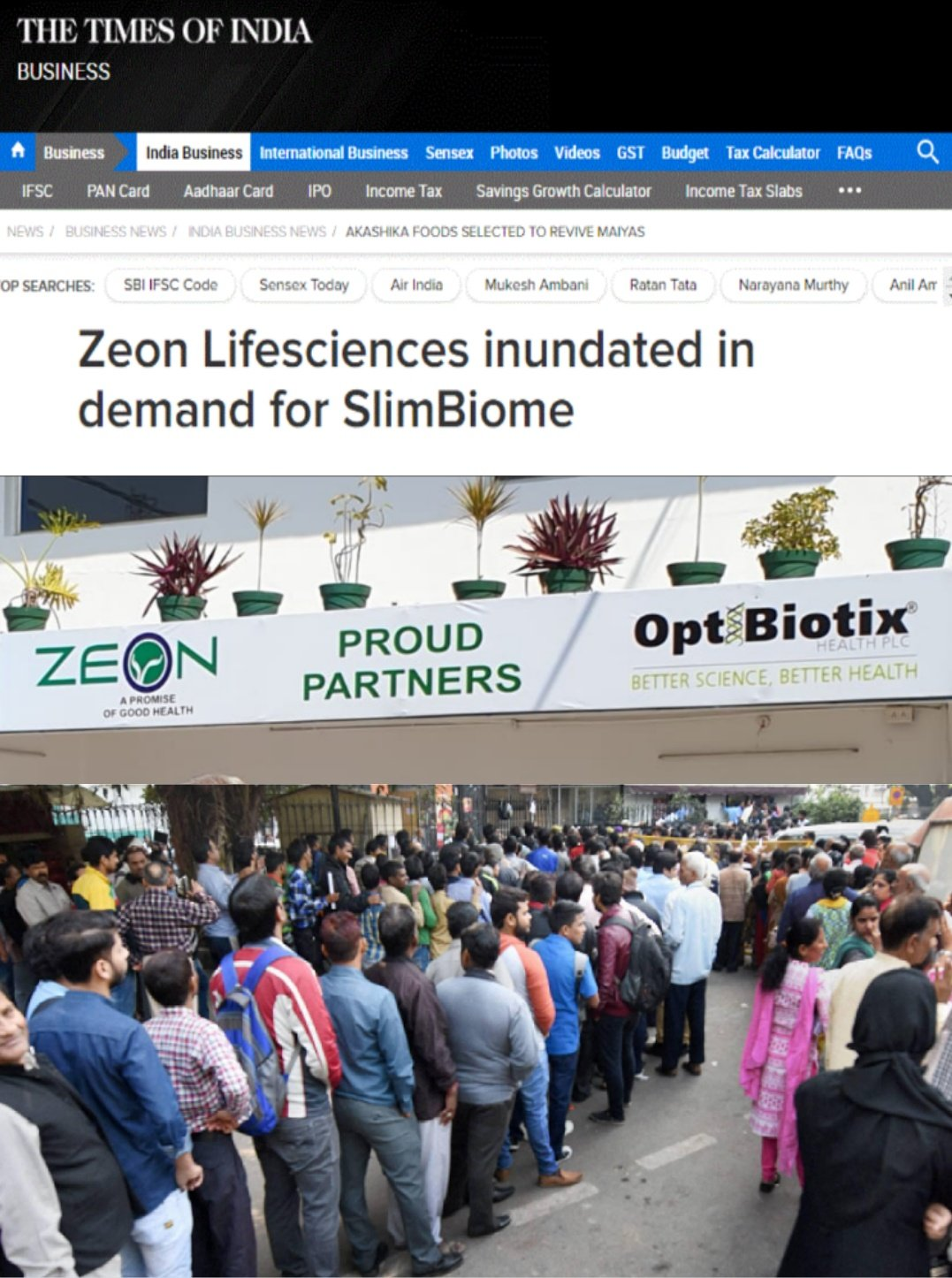 Lemming Investors by elrico: OptiBiotix Health - A Passage to India