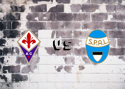Fiorentina vs SPAL  Resumen