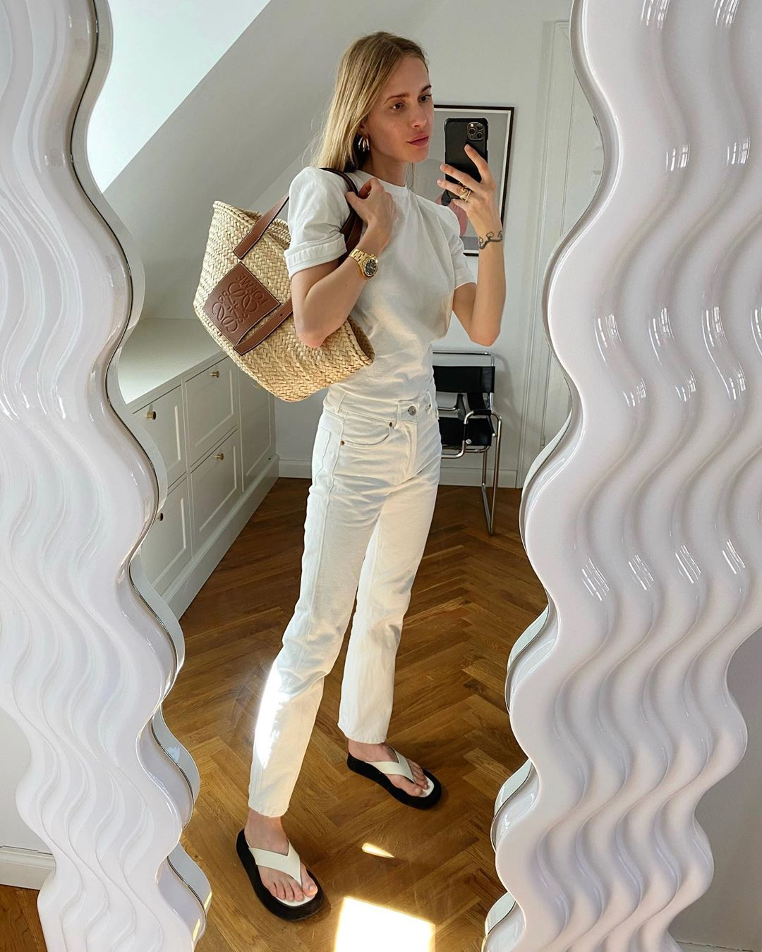 I'm Copying Pernille's All-White Look ASAP