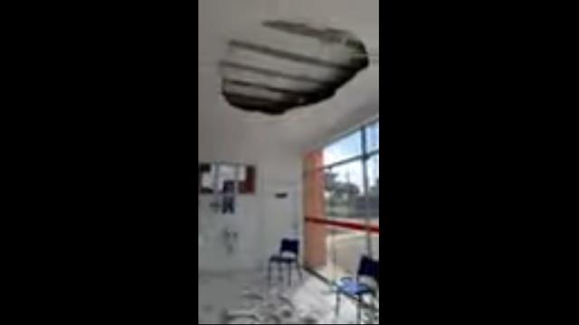 Teto de UBS da cidade de Caxingó cai e atinge pacientes