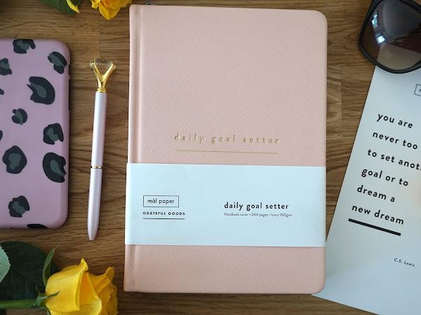 Daily Goal Setter | Mal Paper Planner