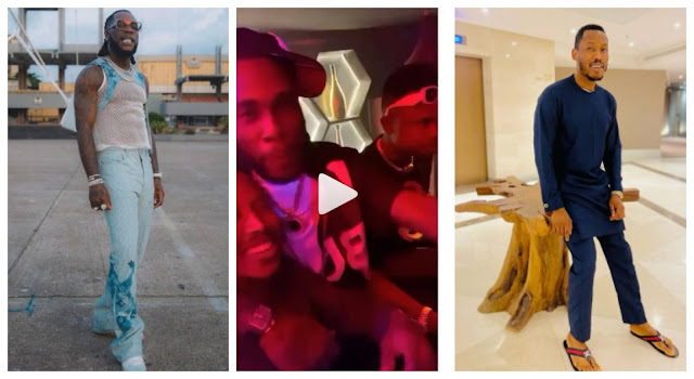 Burna Boy and Mr 2Kay settles after 4 years of fight in Lagos (video)