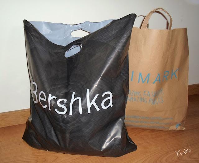 Compras Primark e Bershka
