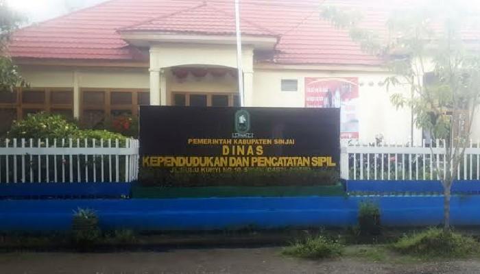 Kantor Dinas Kependudukan dan Pencatatan Sipil Kabupaten Sinjai