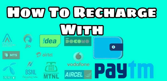 How to recharge with paytm
