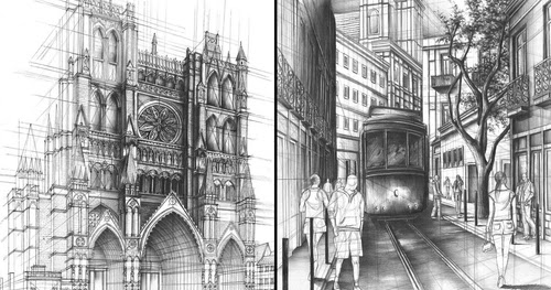 Design Stack A Blog About Art And Architecture Interior In Pencil Drawings