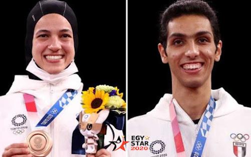 نتائج المصريين في أولمبياد طوكيو في اليوم الثالث الاثنين 26 يوليو